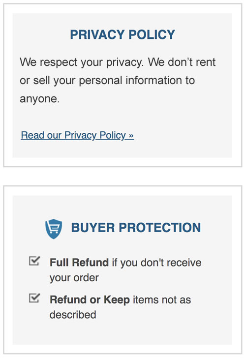 privacy policy statement