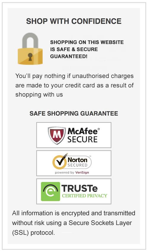 safe shopping guarantee